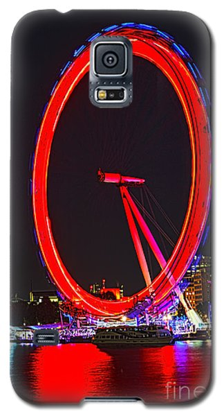 London Eye Red Galaxy S5 Case by Jasna Buncic