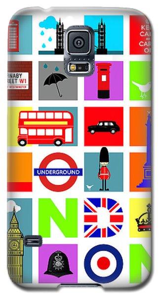 London Galaxy S5 Case by Mark Rogan