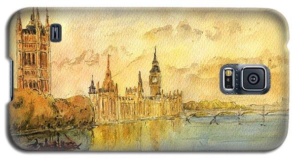 London Thames River Galaxy S5 Case by Juan  Bosco