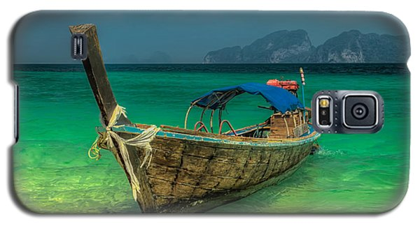 Galaxy S5 Cases - Longboat Galaxy S5 Case by Adrian Evans