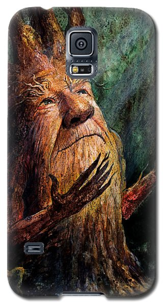 Tree Galaxy S5 Cases - Looking To the Light Galaxy S5 Case by Frank Robert Dixon