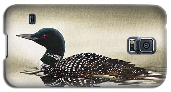Loon In Still Waters Galaxy S5 Case by James Williamson