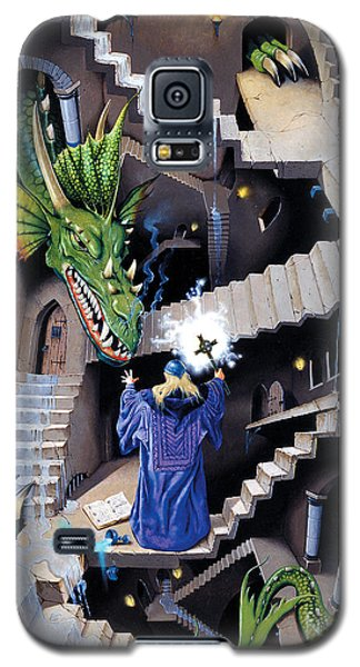 Lord Of The Dragons Galaxy S5 Case by Irvine Peacock