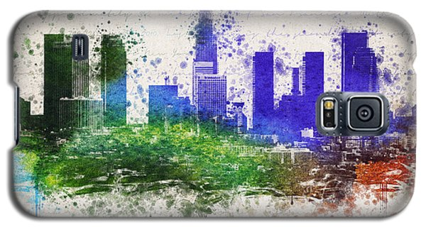 Los Angeles In Color  Galaxy S5 Case by Aged Pixel