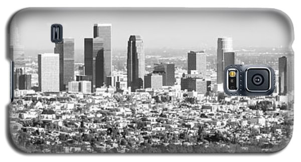 Los Angeles Skyline Panorama Photo Galaxy S5 Case by Paul Velgos