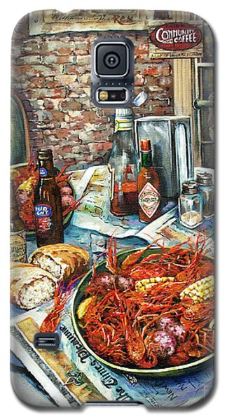Light Galaxy S5 Cases - Louisiana Saturday Night Galaxy S5 Case by Dianne Parks