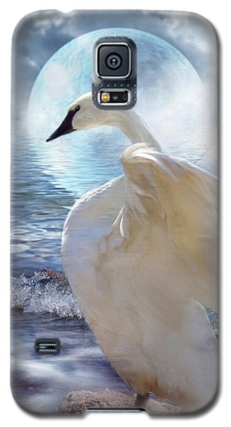 Love Swept Galaxy S5 Case by Carol Cavalaris