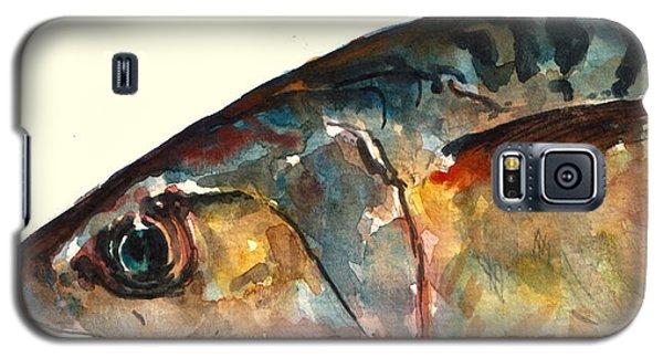 Mackerel Fish Galaxy S5 Case by Juan  Bosco