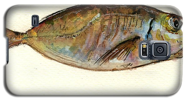Mackerel Scad Galaxy S5 Case by Juan  Bosco