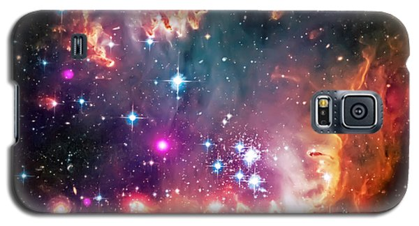 Magellanic Cloud 2 Galaxy S5 Case by Jennifer Rondinelli Reilly - Fine Art Photography