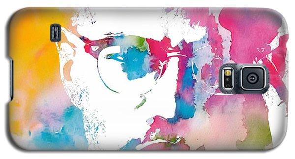 Malcolm X Watercolor Galaxy S5 Case by Dan Sproul