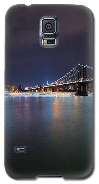 Manhattan Bridge - New York - Usa Galaxy S5 Case by Larry Marshall