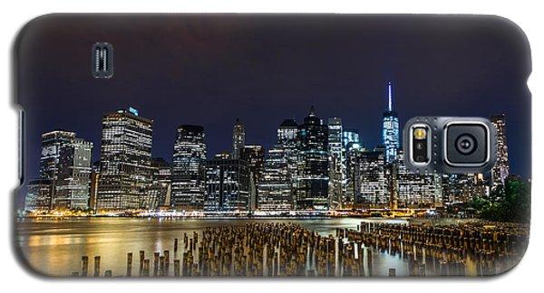 Manhattan Skyline - New York - Usa Galaxy S5 Case by Larry Marshall