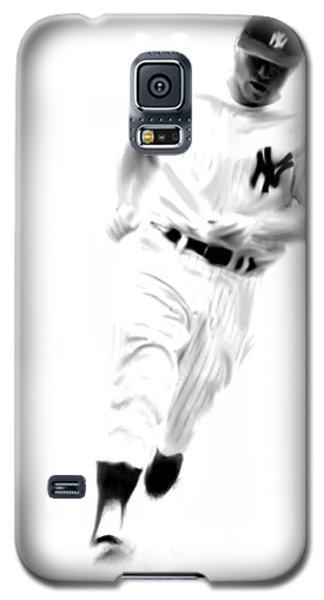 Mantles Gate  Mickey Mantle Galaxy S5 Case by Iconic Images Art Gallery David Pucciarelli