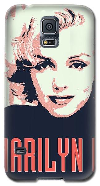 Marilyn M Galaxy S5 Case by Chungkong Art
