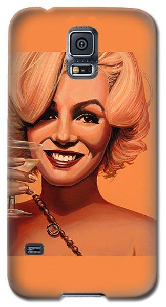 Marilyn Monroe 5 Galaxy S5 Case by Paul Meijering