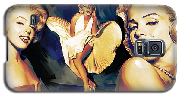Marilyn Monroe Artwork 3 Galaxy S5 Case by Sheraz A