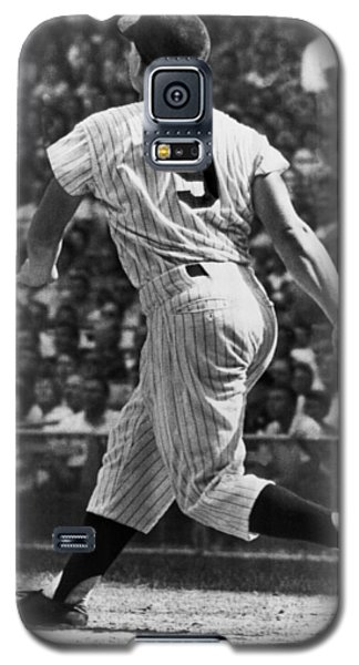 Maris Hits 52nd Home Run Galaxy S5 Case by Underwood Archives