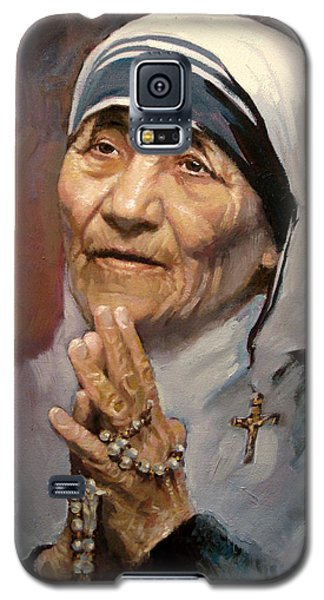 Popular Galaxy S5 Cases - Mather Teresa Galaxy S5 Case by Ylli Haruni