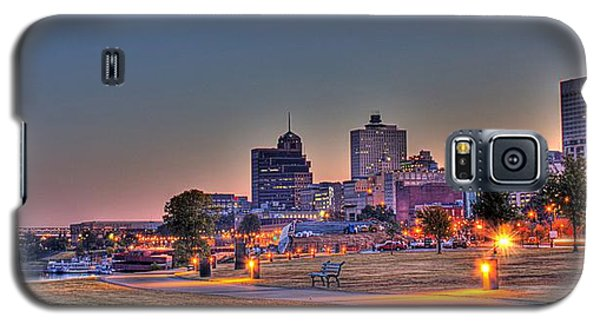 Cityscape - Skyline - Memphis At Dawn Galaxy S5 Case by Barry Jones
