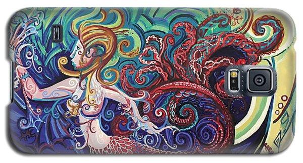Mermaid Gargoyle Galaxy S5 Case by Genevieve Esson