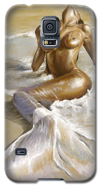 Nudes Galaxy S5 Cases - Mermaid Galaxy S5 Case by Karina Llergo Salto