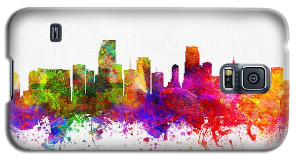 Miami Florida Skyline Galaxy S5 Case by Aged Pixel