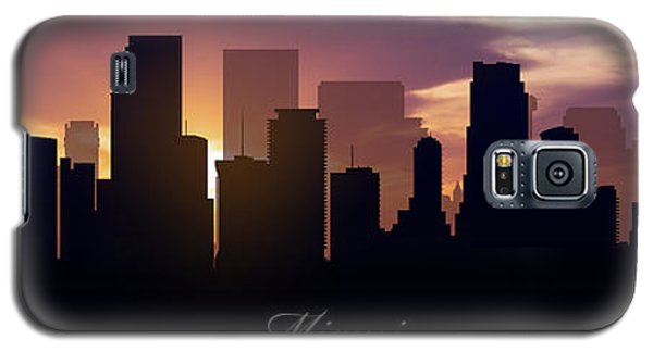 Miami Sunset Galaxy S5 Case by Aged Pixel