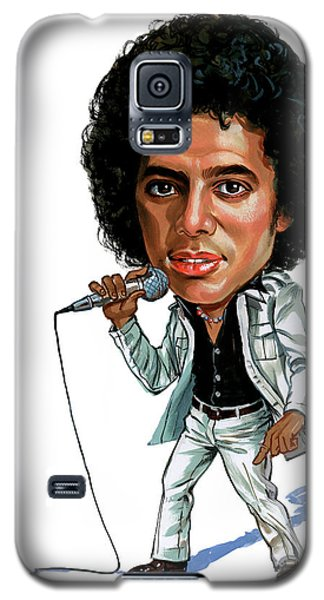 Michael Jackson Galaxy S5 Case by Art