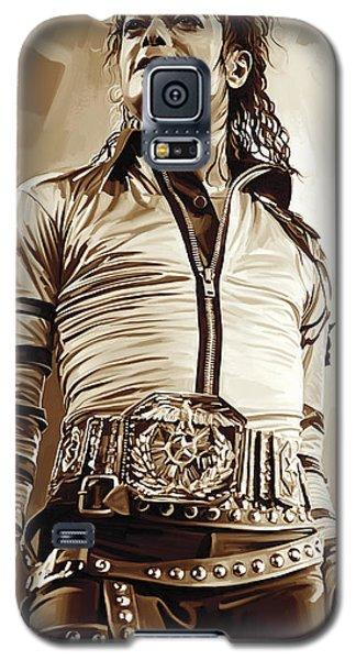 Michael Jackson Artwork 2 Galaxy S5 Case by Sheraz A