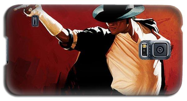 Michael Jackson Artwork 4 Galaxy S5 Case by Sheraz A