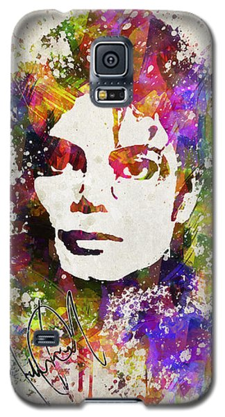 Michael Jackson In Color Galaxy S5 Case by Aged Pixel