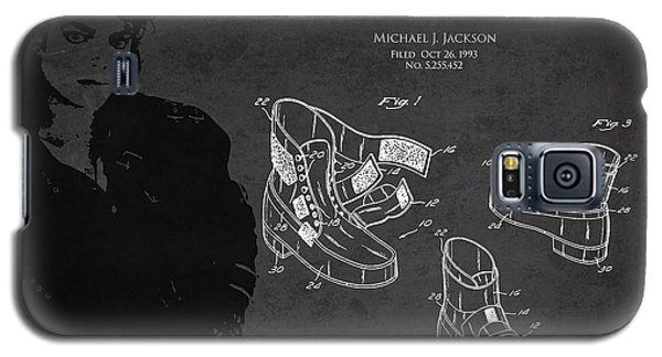 Michael Jackson Patent Galaxy S5 Case by Aged Pixel