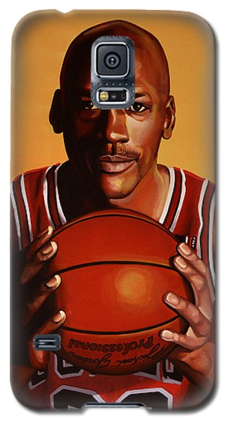 Michael Jordan 2 Galaxy S5 Case by Paul Meijering