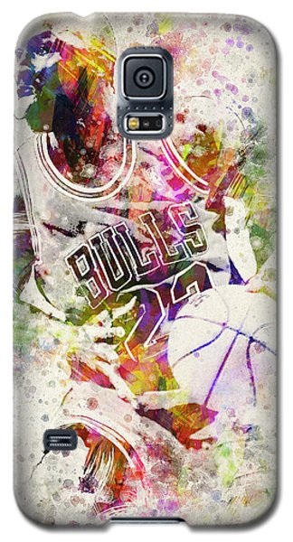 Michael Jordan Galaxy S5 Case by Aged Pixel