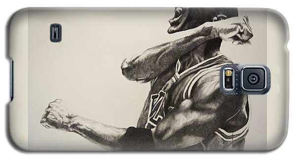 Michael Jordan Galaxy S5 Case by Jake Stapleton