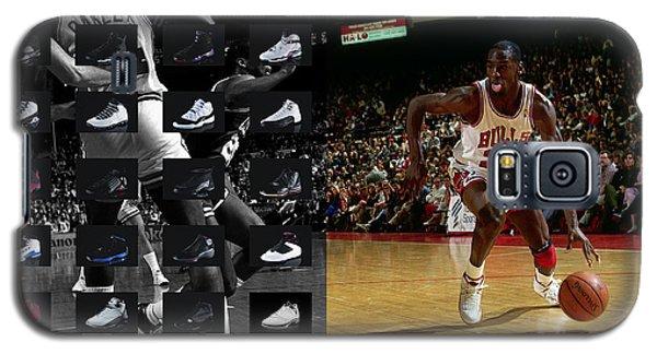 Michael Jordan Shoes Galaxy S5 Case by Joe Hamilton