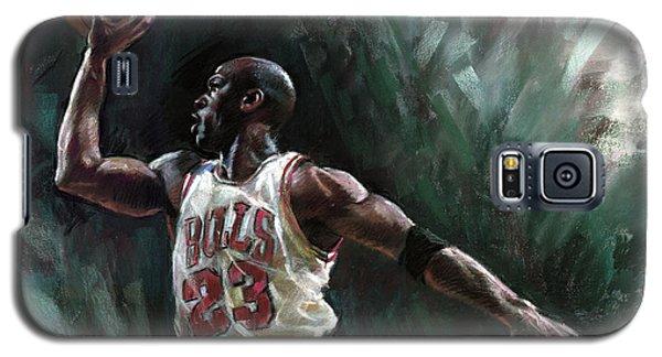 Michael Jordan Galaxy S5 Case by Ylli Haruni