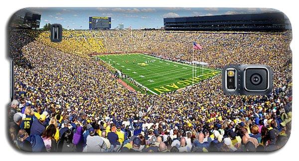 Michigan Stadium - Wolverines Galaxy S5 Case by Georgia Fowler