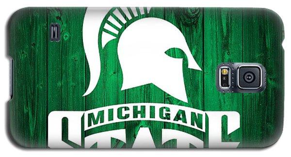 Michigan State Barn Door Galaxy S5 Case by Dan Sproul