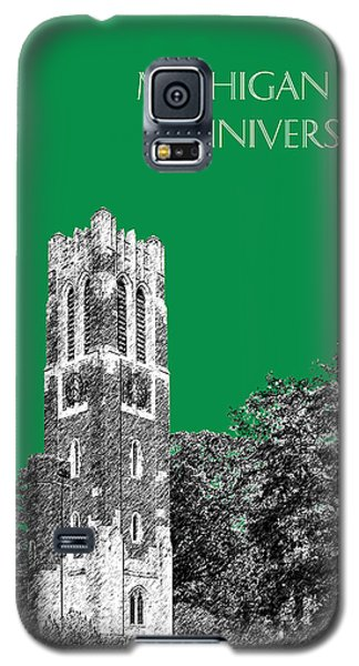 Michigan State University - Forest Green Galaxy S5 Case by DB Artist