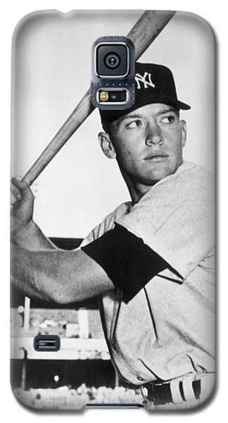Mickey Mantle At-bat Galaxy S5 Case by Gianfranco Weiss