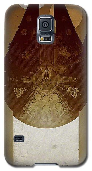 Millennium Falcon Galaxy S5 Case by Baltzgar