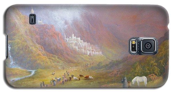 Minas Tirith  War Approaches. Galaxy S5 Case by Joe  Gilronan