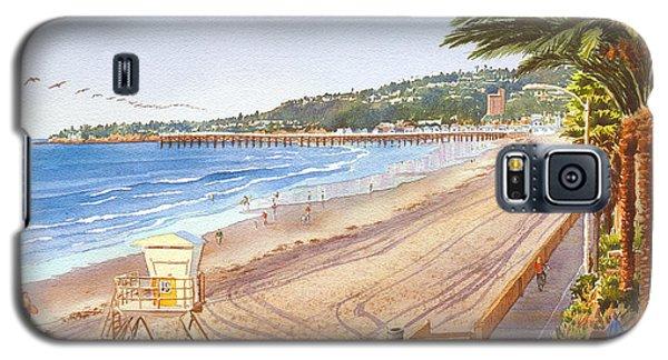 Mission Beach San Diego Galaxy S5 Case by Mary Helmreich