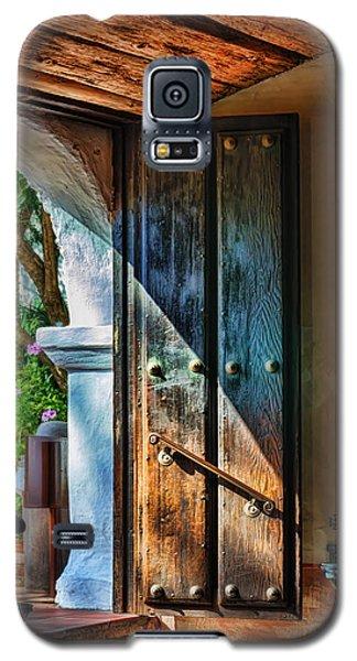 Popular Galaxy S5 Cases - Mission Door Galaxy S5 Case by Joan Carroll
