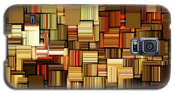 Modern Abstract Xxiii Galaxy S5 Case by Lourry Legarde