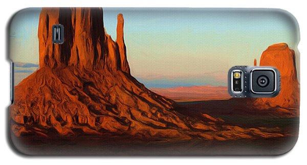 Landscapes Galaxy S5 Cases - Monument Valley 2 Galaxy S5 Case by Ayse Deniz