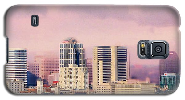 Moon Galaxy S5 Cases - Moon Over Nashville Galaxy S5 Case by Amy Tyler