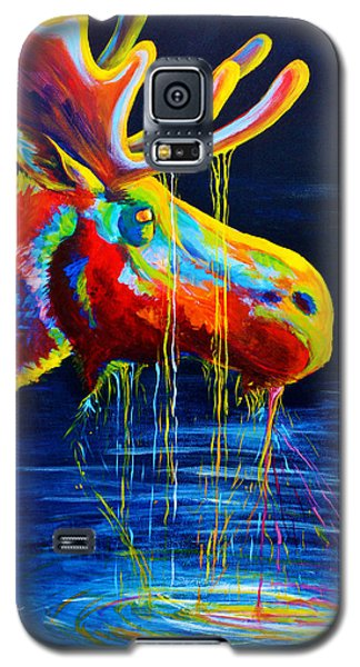 Landscapes Galaxy S5 Cases - Moose Drool Galaxy S5 Case by Teshia Art
